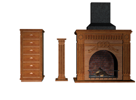 Furniture 03 stock pack by Ecathe