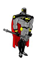 My DCAU Steel by Woodclaw