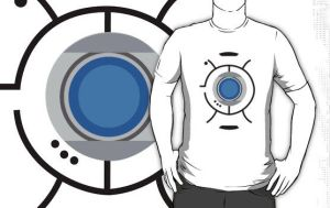 Portal Wheatley T-Shirt by drg