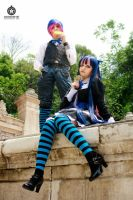 anarchy stocking cosplay by sanchanclau