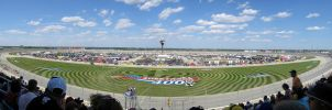 Chicagoland Speedway Panoramic - 2007 by kurtjmac