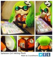 Inkling Plushie by CrystalLeeArts