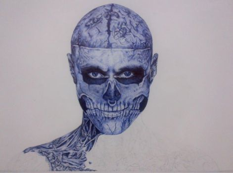 The Zombie Boy WIP II by 7ayat