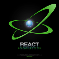 ReactOS logo concept by darkdoomer