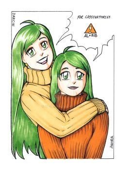 Anora and Darcie by AL-818