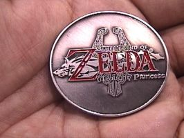 Zelda Coin: Front side by LuigiUser