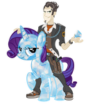 Handsome Jack's Diamond Pony by PixelKitties