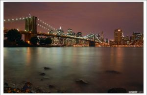 New York night view cz.2 by szczepanek