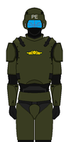 Pacific Empire Powered Armor by kyuzoaoi