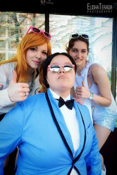 Gangnam Style - Adorable, Loveable by celia-rose