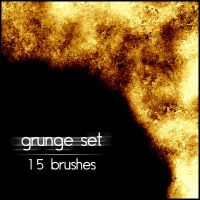 Grunge brushes set 3 by tcone