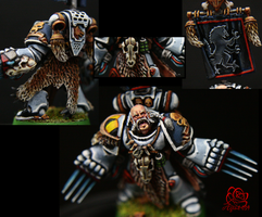 40K - Space Wolf Segreant by TaoPhotography