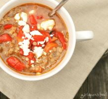Greek Lentil Soup by LZakaria