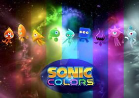 Sonic Colours Of The Rainbow by D-JProductions