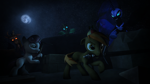 Don't Mine at Night by VictriaOfArgus