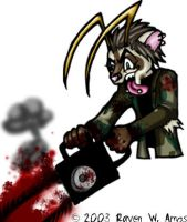 Chainsaw Psycho by raven-amos