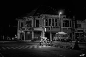 lonely night by bapet