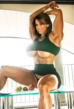 Muscle Lacey Chabert (III) by CanaryGold
