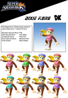 Dixie Kong (DLC POSSIBLE) by birdman91