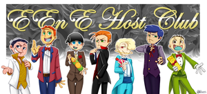 EEnE host club by aulauly7