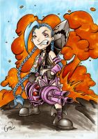 Jinx The Loose Cannon by mhroczny