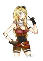 Ezreal versione femminile by PoisonIky
