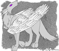 Winged Creature by nukdae