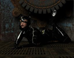 CatWoman by bluegemstones