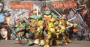Teenage Mutant Ninja Turtles customs Nickelodeon by Derrico13