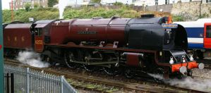 Steam Train 6233 Duchess of Sutherland. by AdrianDunk