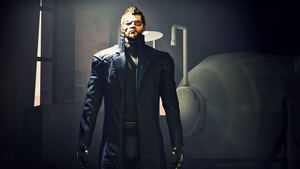 Adam Jensen (SFM Test) by Robogineer