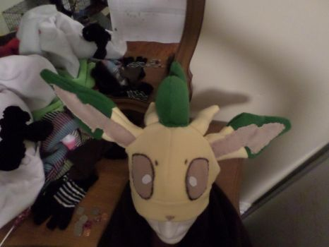 Leafeon Hat by Creative-Shadow