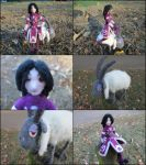Posable Felted WildStar Character - Miriella by SnowFox102