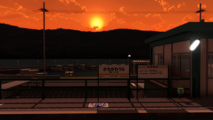 [DL]Kachigawaura Station by ejima8
