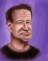 Robin Williams by imdeerman