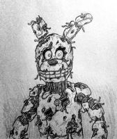 FNaF3: ZomBon by TheJege12