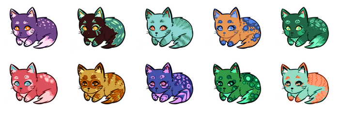 Kitty Adopts and Customs!! [OPEN] by eliaria