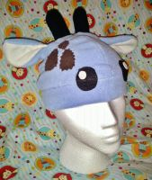 Blue Giraffe Hat - Gift by Sparkle-And-Sunshine
