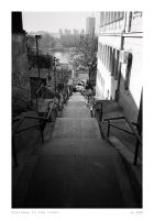 Stairway to the river by ESDY
