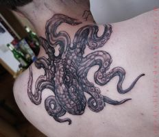 Octopus Berlin by Benjamin Otero by needtobleed