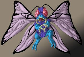 Butterfree by Cannibal-Cartoonist
