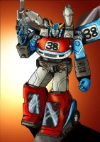 Transformer G1: Smokescreen by Clu-art