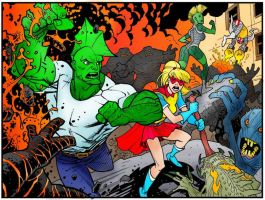 Savage Dragon Panel - Vinci 48 by InaudibleWhisper