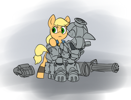 Fallout Ponies: FO4 Edition - Applejack by Metal-Kitty