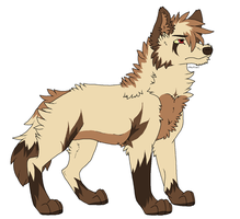 Wolf Adoptable 1 .:Closed:. by DatEmilynn