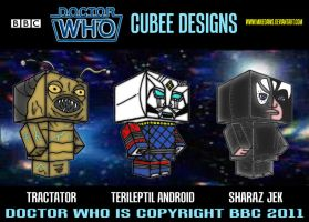 Cubee Who - 4 by mikedaws