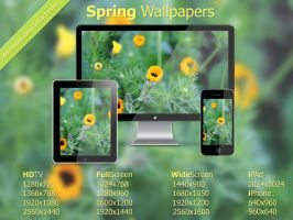 Spring Wallpaper Pack by doredore