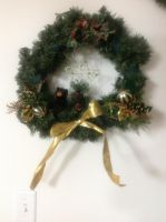 Holiday Wreath Rustic 2 by Taiya001