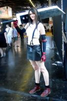 Tifa with the buster sword by LockhartTifa