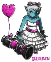 Tristana girly skin by edwardoo
